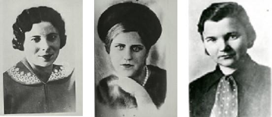 Мария Загорская, Ольга Кухто, Мария Лисецкая