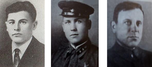 Сергей Вишневский (Смелый), Леонид Барсуковский (Варес), Николай Бортник (Пуля)